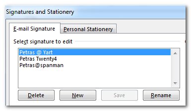 how to create my signature in outlook